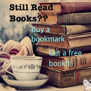 Buy a bookmark and get a free book!